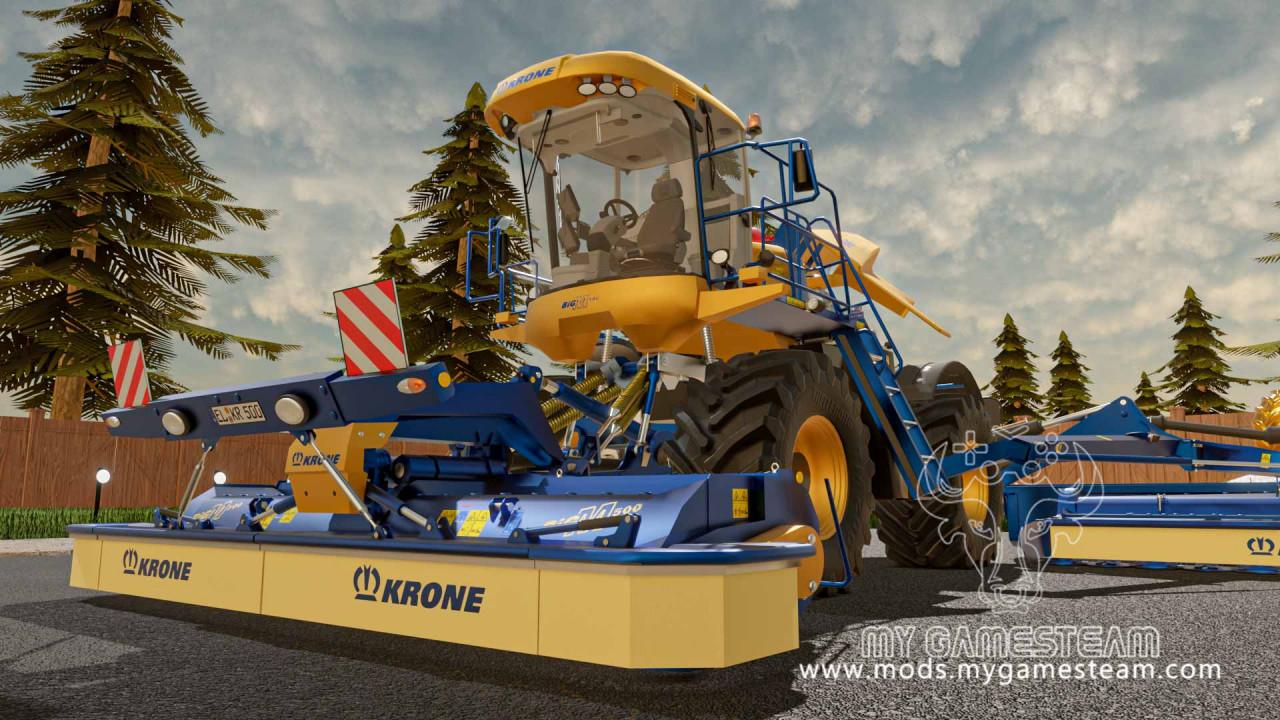 Krone Big M500