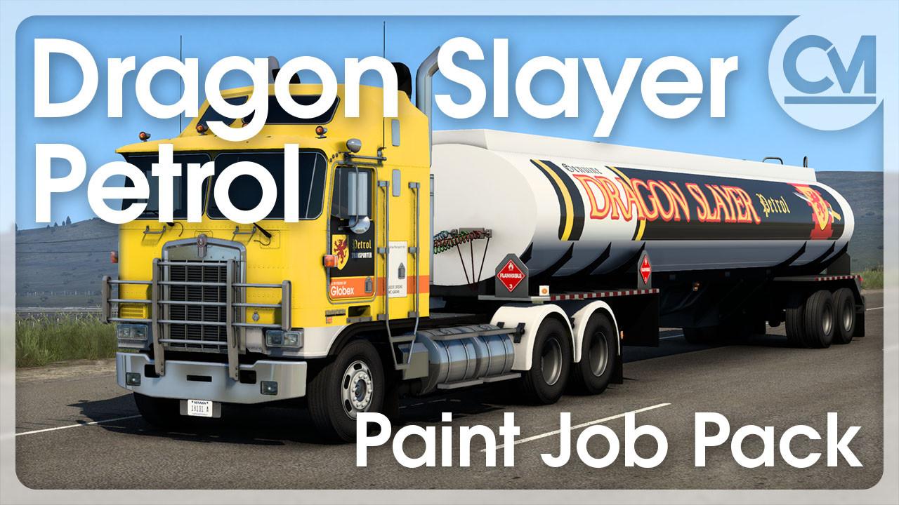 Dragon Slayer Petrol Paint Job Pack