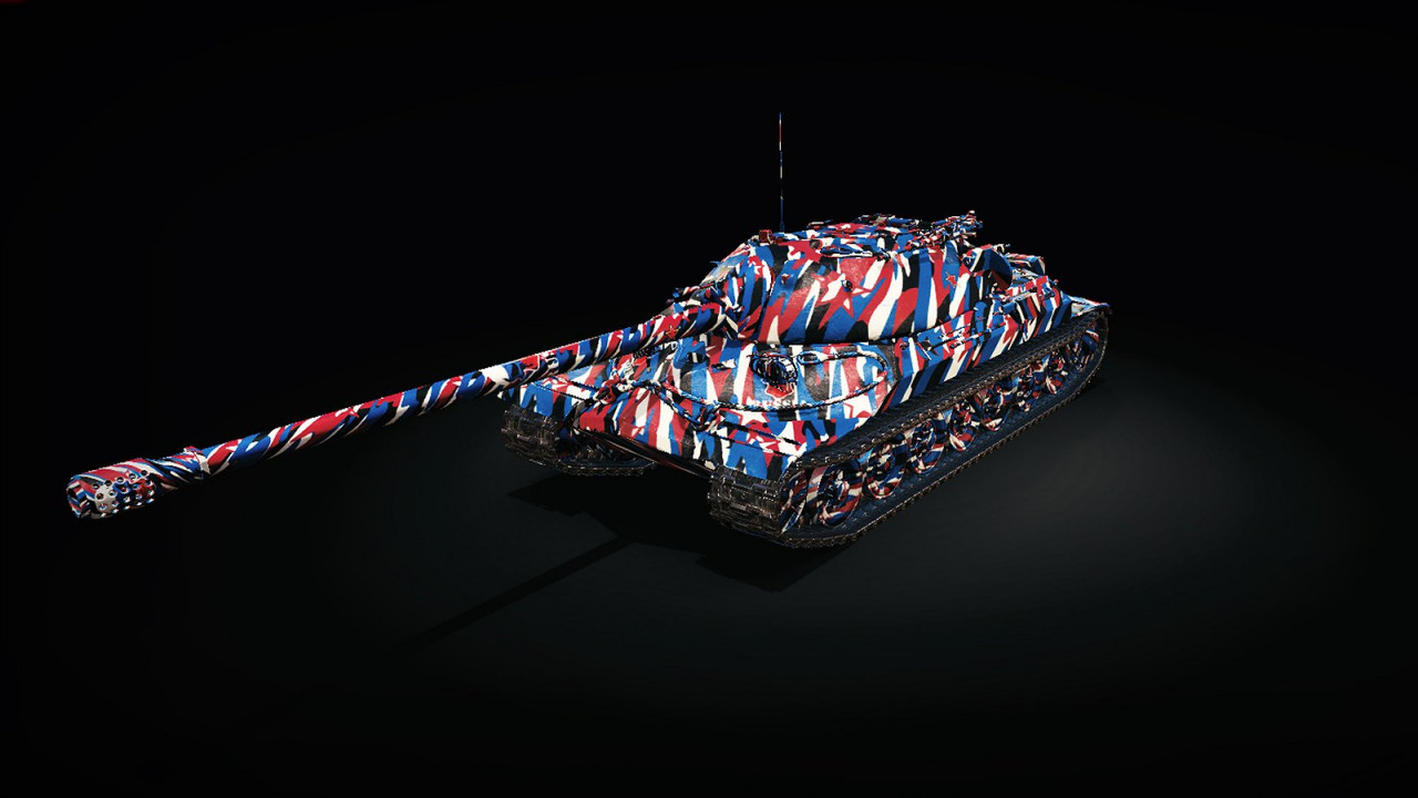 Patriotic Camouflage Skin: USSR X IS-7