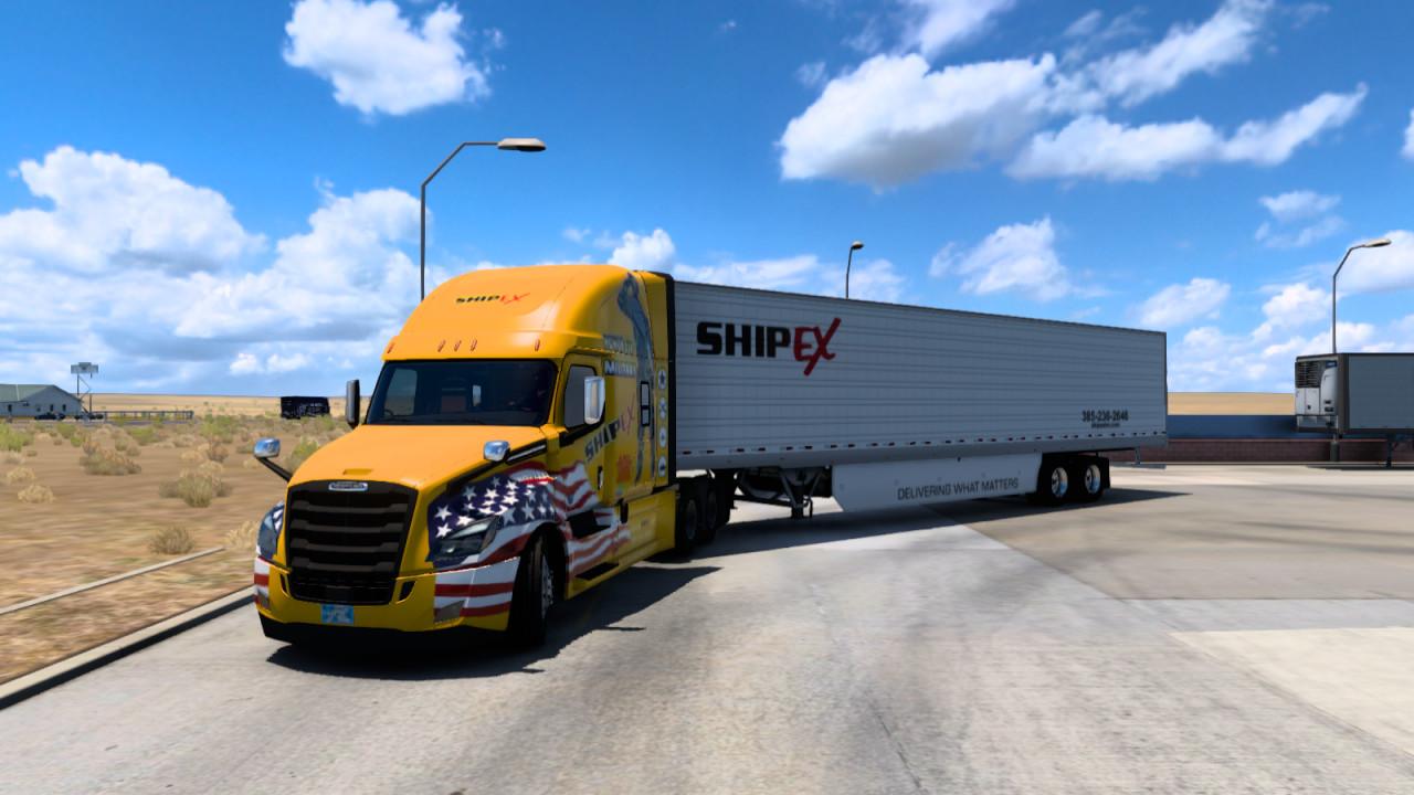 Ship Ex Logistics skin