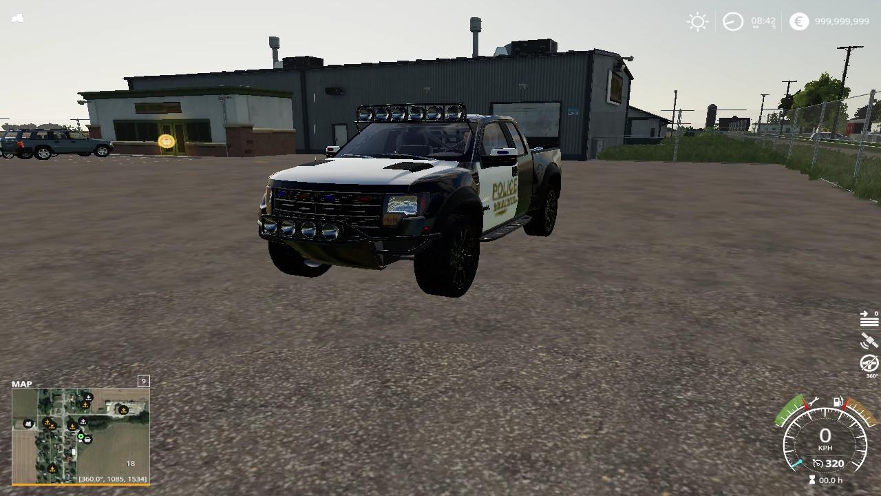 2012 ford raptor police