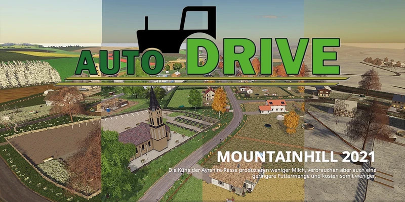 AutoDrive course for the MountainHill2021