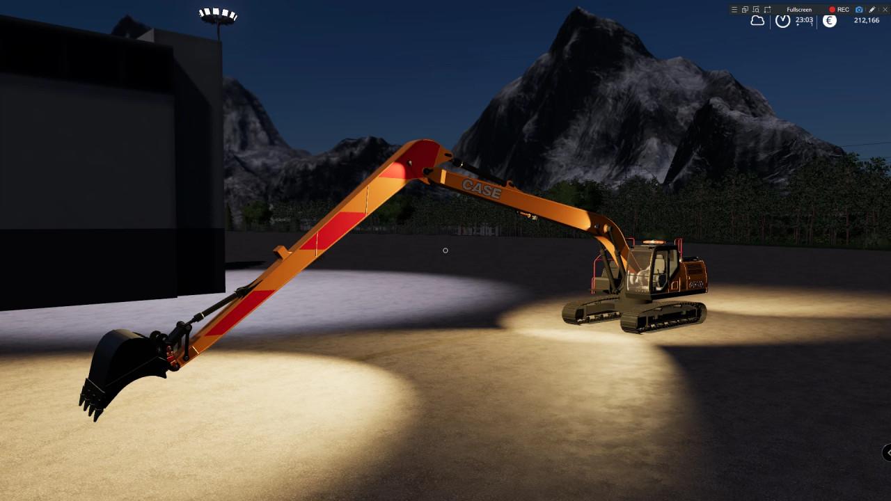 CASE CX250D Long Reach Excavator