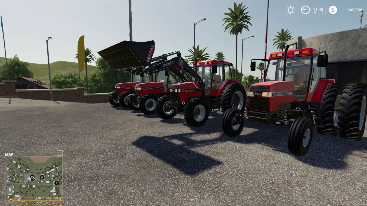 Case IH Maxxum series US from 1990 to 1997