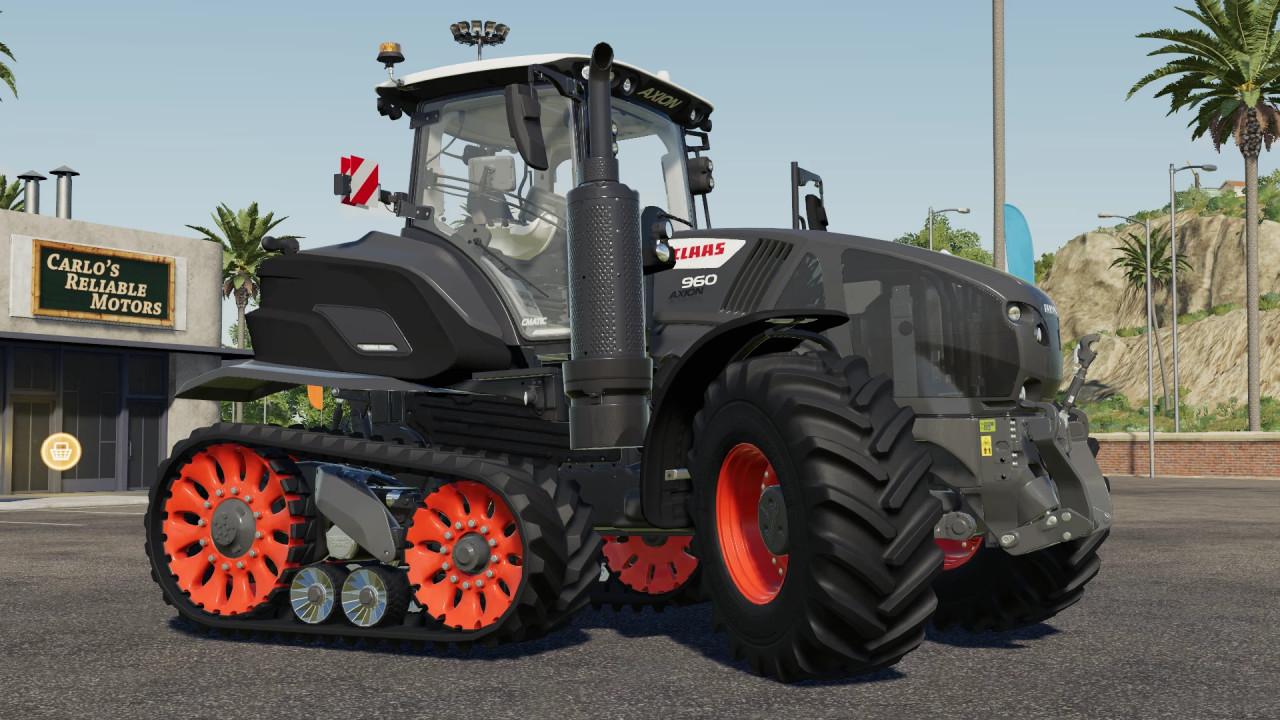 Claas 900 Terra Trac Black Edition