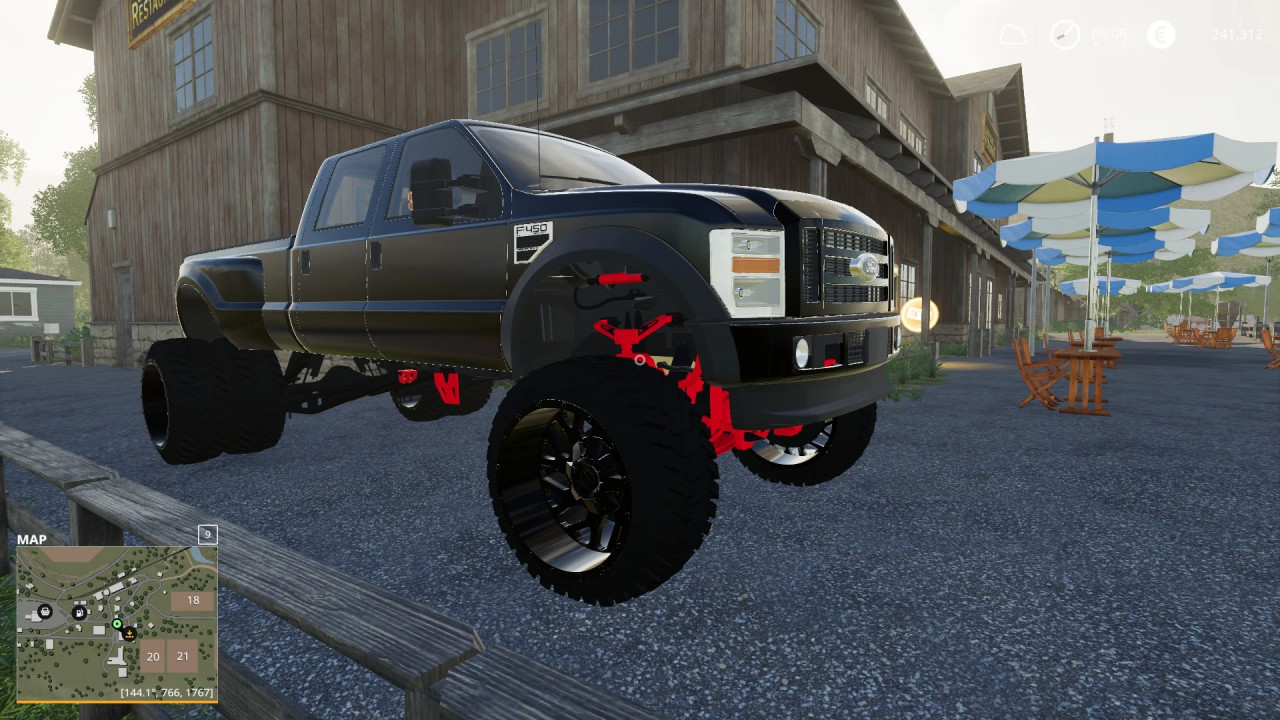Ford show truck dually