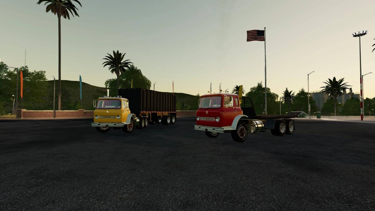 FS19 IH loadstar cabover pack