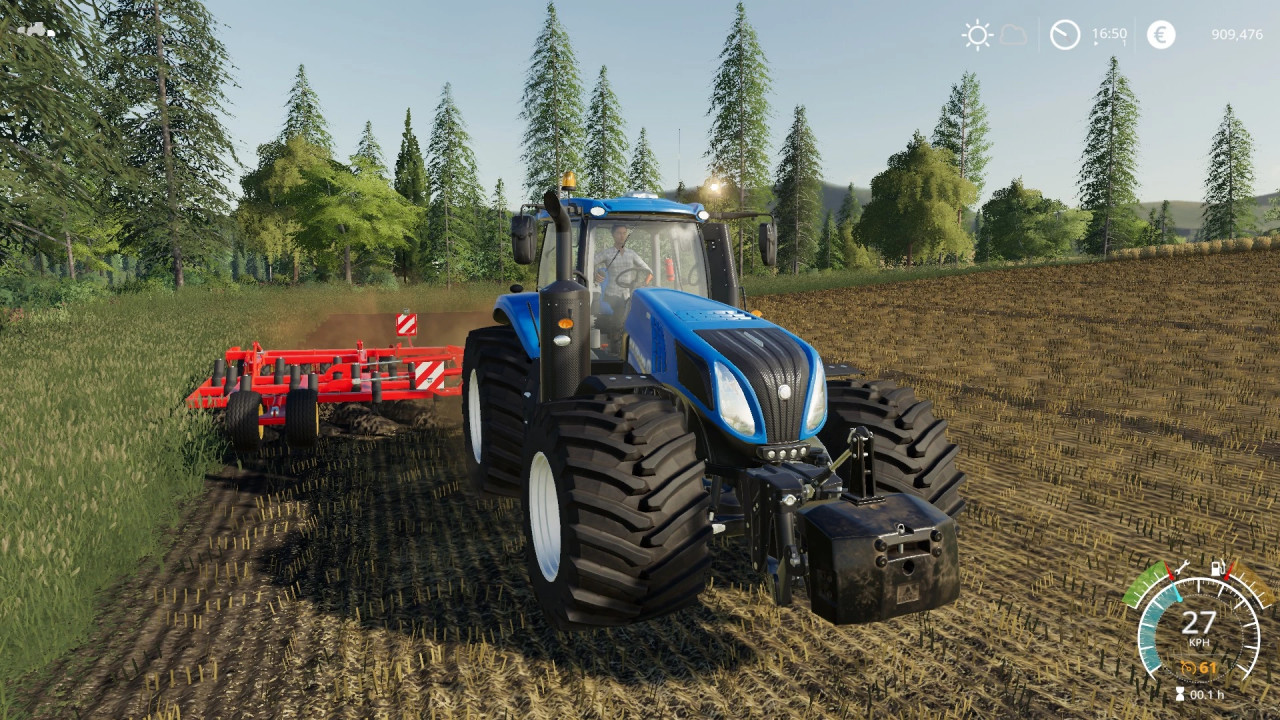 New Holland T8FK by Stevie