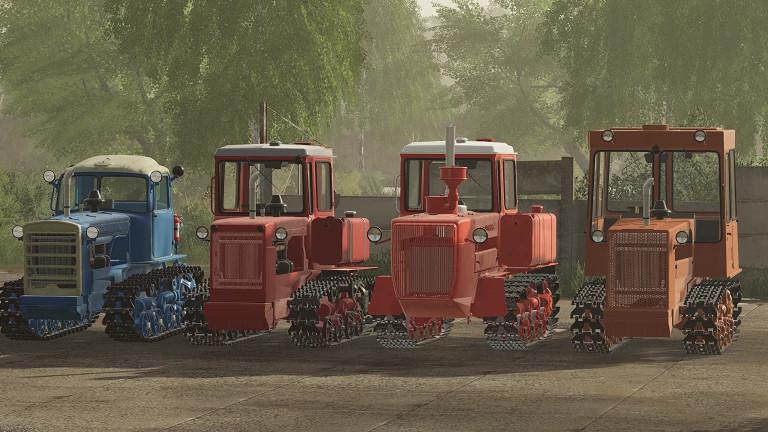 Pack Tractors Dt