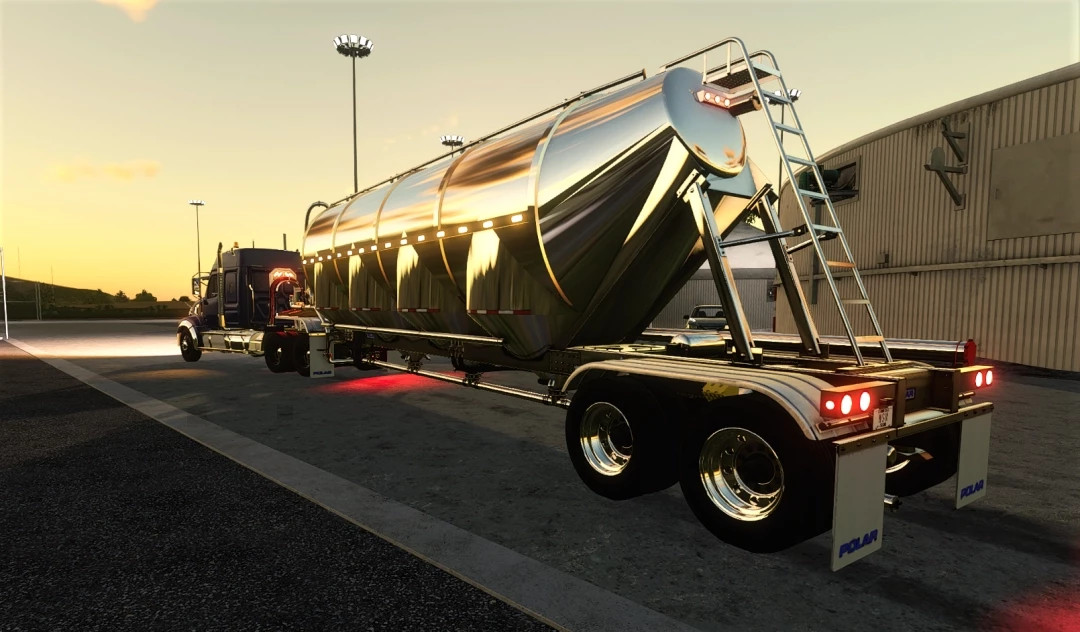 Polar Pneumatic Bulk Tank Trailer