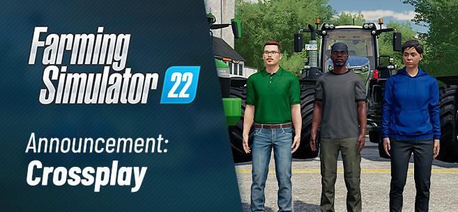 Crossplay in Farming Simulator 22 Confirmed!