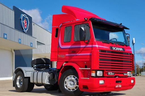 Scania Frontal Série H 112H, 113H 1,42