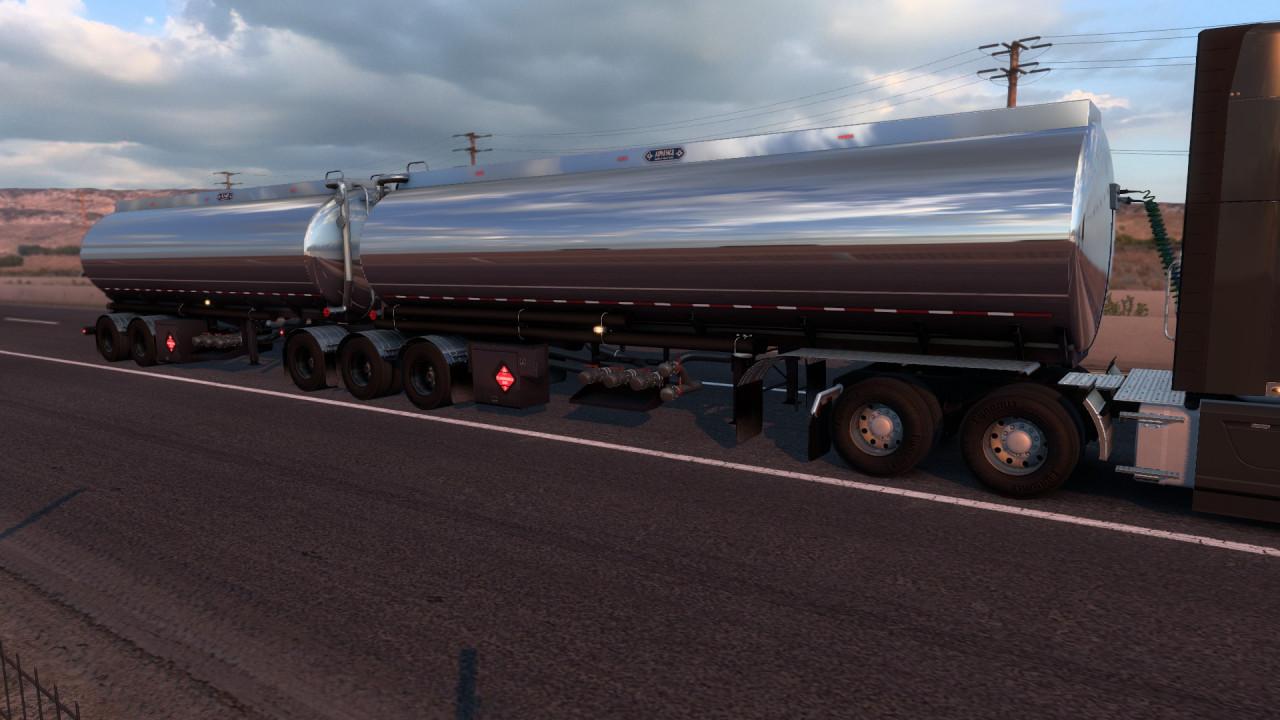 Advanced B-Train Tanker 1.42.x - V1.2r (+wheel particles e.g.)