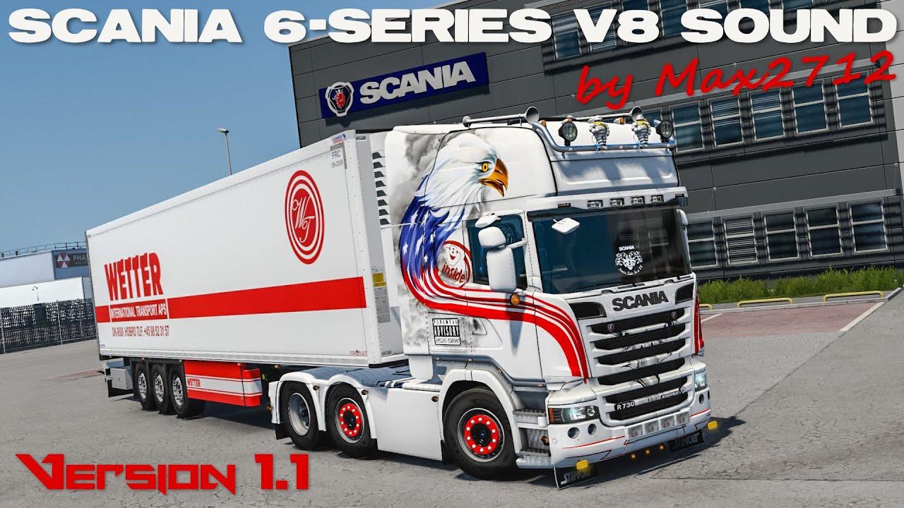 SCANIA 6-series DC16 V8 sound