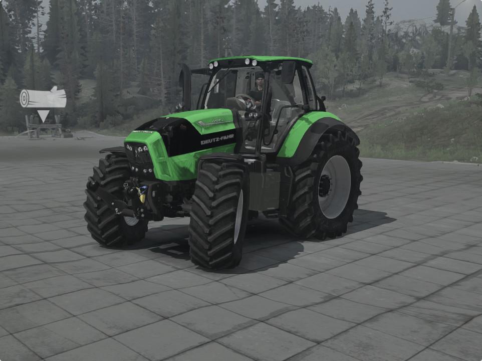 Deutz Fahr - Agrotron 7250ttv