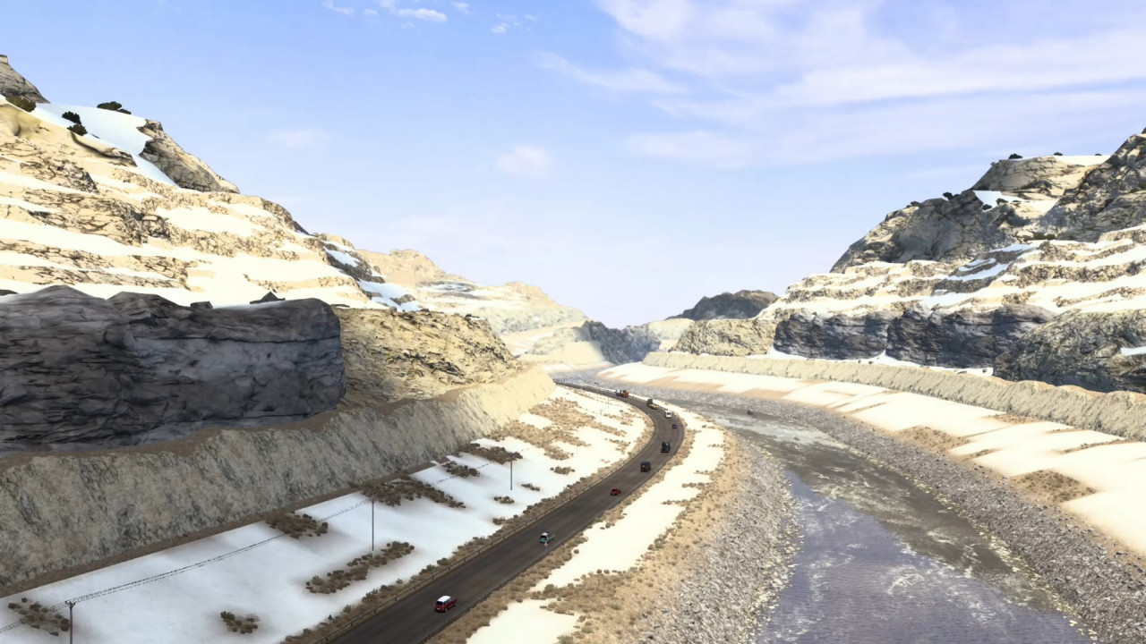 ROAD TO ASIA V1.1.2 MAP MOD ETS2 1.42