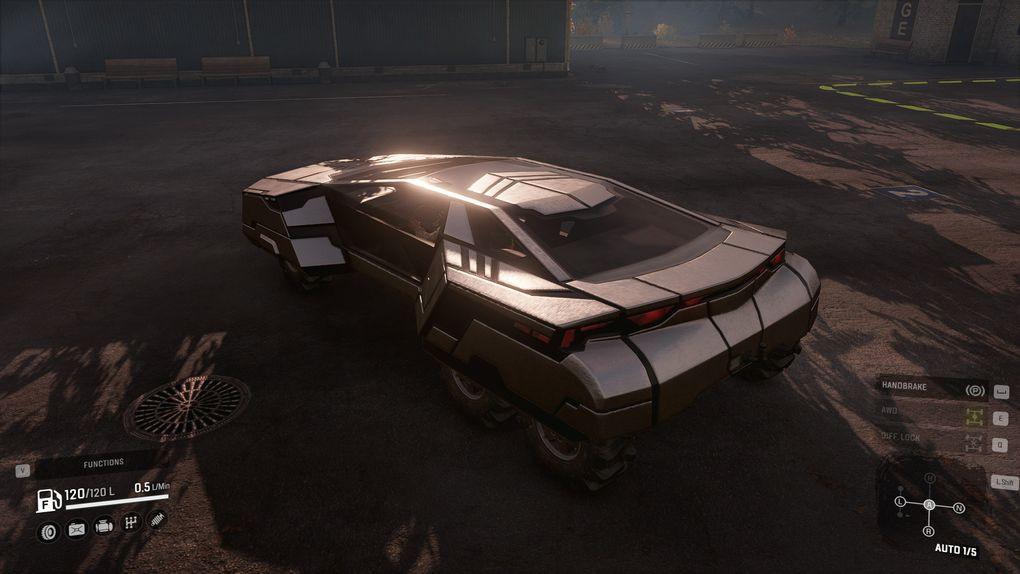 Sci-Fi vehicle 001