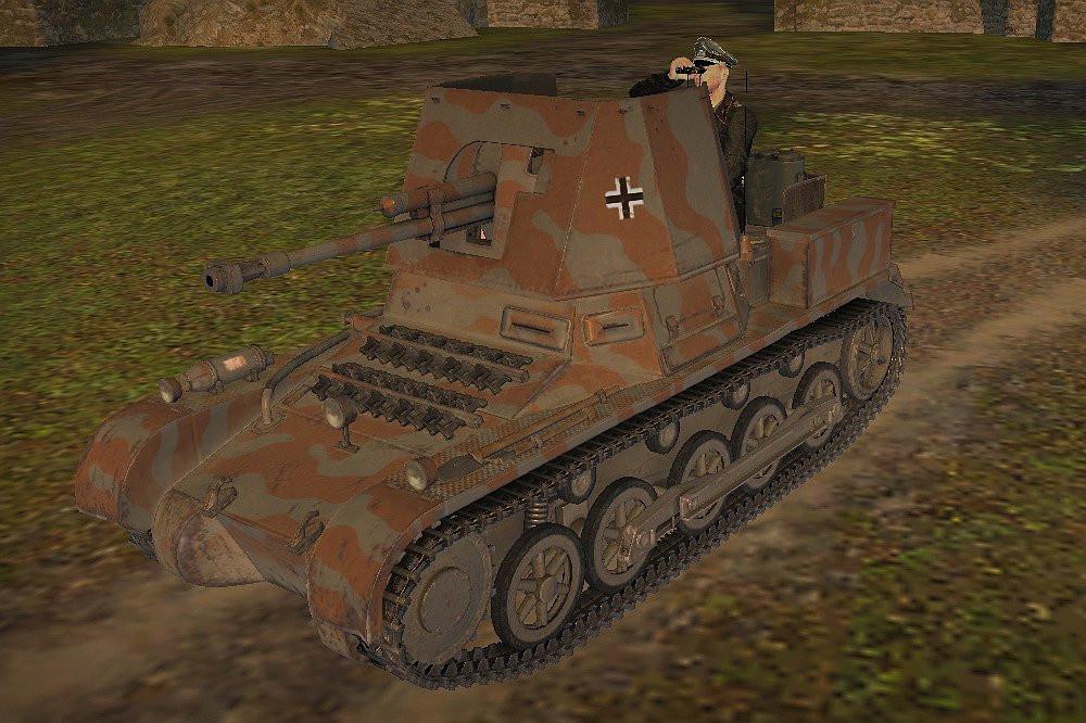 Panzerjäger I with crew