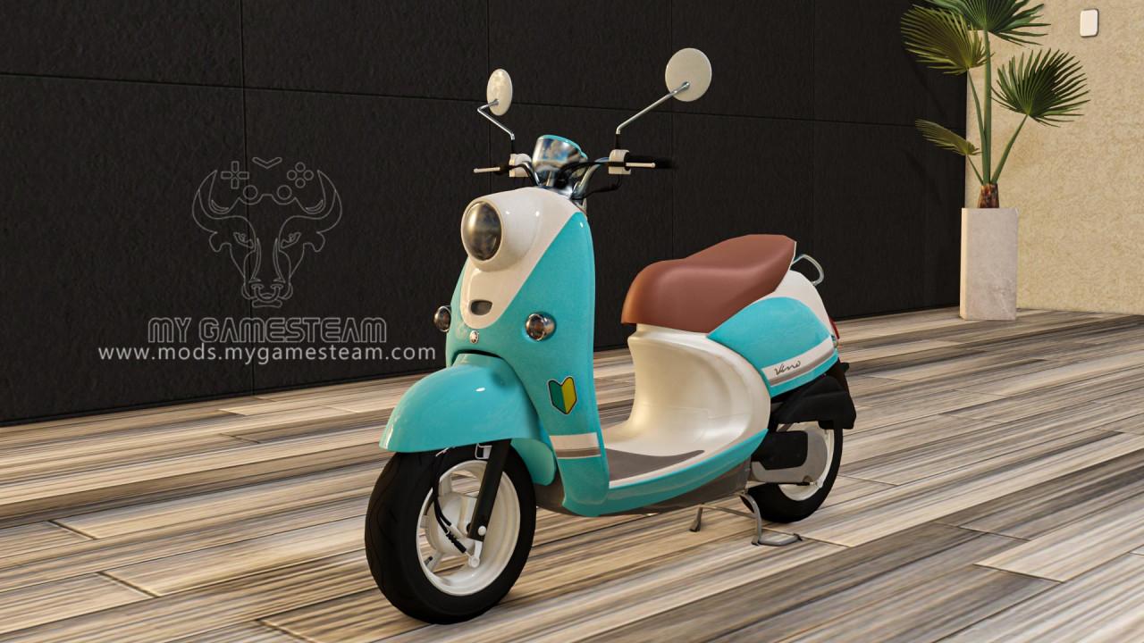 Yamaha Vino Bike